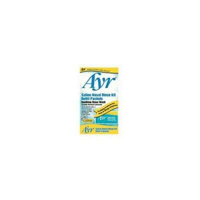 6 Pack Ayr Saline Nasal Rinse Kit Soothing Sinus Wash 51 Refill Packets Each