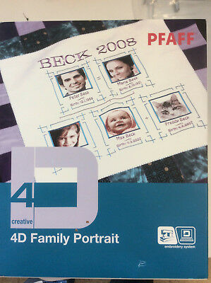 Pfaff 4D Family Portrait Embroidery System