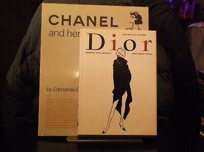 Chanel and Her World AND Dior UNIVERSE OF FASHION Book LOT two Icons GORGEOUS