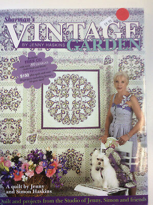 Jenny Haskins Vintage Garden Collection of Quilts and Projects Book with CD