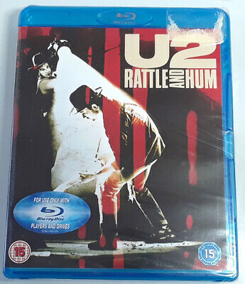 U2 RATTLE AND HUM Brand New Sealed BLU-RAY Concert Movie REGION-FREE UK IMPORT