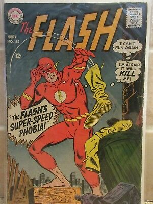 The Flash #182  (September 1968, DC) Super Speed Phobia