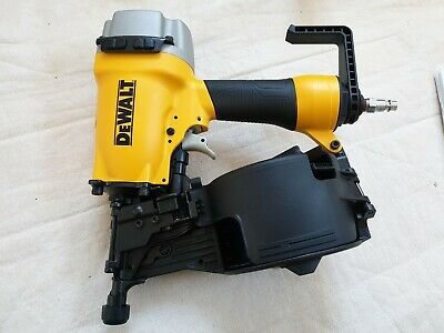 DeWalt DPN64C-XJ Pneumatic Air Coil Nailer Ring Shank Nail Gun 32-64mm In Case