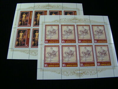 Russia Scott #5561a-5562a Scarce Mini Sheets Of 8 MNH O.G. $550.00 SCV Nice!!