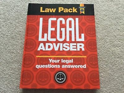 Law Pack Legal Adviser Your Legal Questions Answered Book NEW