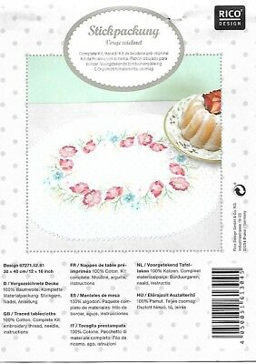*Rare Rico Traced linen kit # 67257.52.81- to embroider