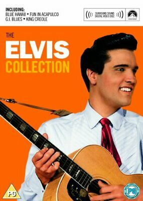 The Elvis Presley Collection (4 DVD Box Set) -  CD WYLN The Fast Free Shipping