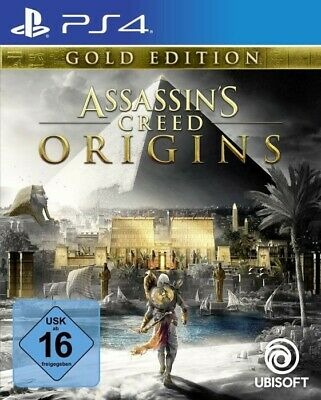 PS4 / Sony Playstation 4 Spiel - Assassin's Creed: Origins #Gold Edition mit OVP