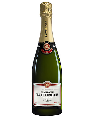 Taittinger Brut Reserve Champagne NV Champagne Sparkling 750mL case of 6