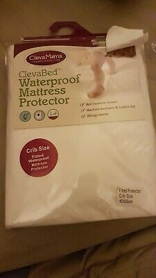 New Waterproof Mattress Protector - Baby Crib 70x140 CottonClevamama Clevabed