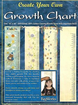 BagWorks Vintage Growth chart for your embellishment paint, sew or stamp 10x44in