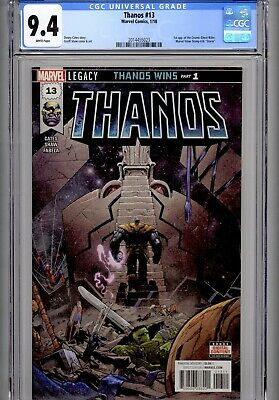 Thanos #13~Marvel Comics, 1/18~1st appearance of Cosmic Ghost Rider~CGC 9.4 WP