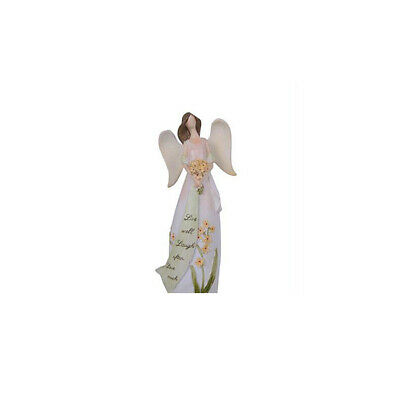 Angel Statue Angel Holding Flowers Angel Fairy Resin Angel Figurine Statue Girl