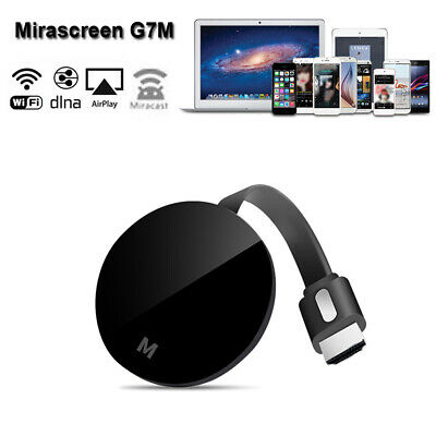 G7M TV Dongle Wireless WiFi 1080p Airplay Display DLNA Miracast HD Receiver Q2X5