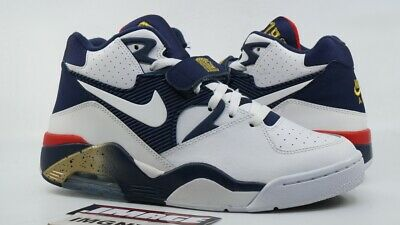 AIR FORCE 180 310095 100 White Blue, Red, Gold Barkley Usa