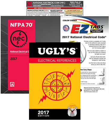 NFPA 2017 : National Electrical Code (NEC) Paperback (Softbound) EZ Package 2017