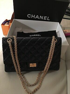 a8a90b8afa31da Mint Authentic Chanel Reissue Classic Flap Bag 226 With Authenticity Card  France