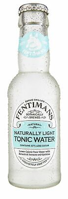 Fentiman's Light Tonic Water 200mL Other Drinks Screw Cap case of 24