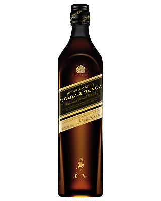 Johnnie Walker Double Black Scotch Whisky 700mL case of 6