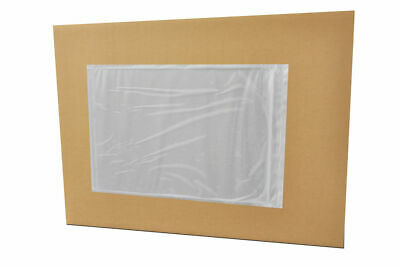 """3000 Pouch 7"""" x 10"""" Clear Packing List Plain Face Shipping Envelopes"""