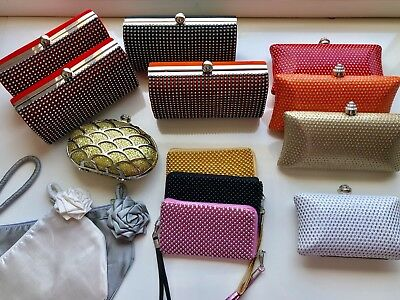 New clutch purses, coin purses and dressy bags BULK LOT