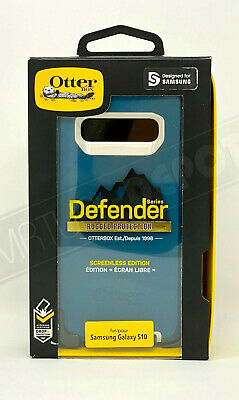 Original OtterBox Defender Case w/Holster Belt Clip for Galaxy S10e / S10 / S10+