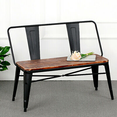 Incredible Industrial Farmhouse Wood Dining Entryway Bench Vintage Andrewgaddart Wooden Chair Designs For Living Room Andrewgaddartcom