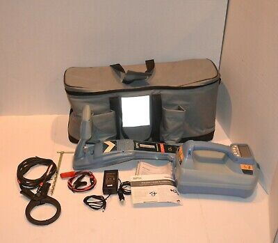 RADIODETECTION SPX RD7100 DL T5 PIPE CABLE FAULT LOCATOR w? RECHARGEABLE BATTERY