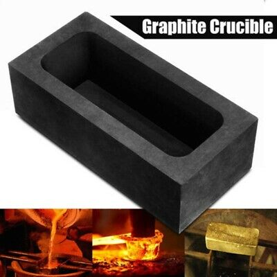 Graphite Casting Ingot Bar Mold For Gold Silver Copper Melting Refining Scrap UK