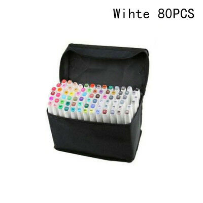 30/ 40 /60 /80 Colors Dual Headed Artist Sketch Markers Pens Set For Animation