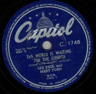 Les Paul And Mary Ford* / Les Paul - The World Is - 30527