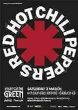 Redhot Chilli Peppers Double pass Mt Duneed Geelong 2nd March 2019 Premium entry