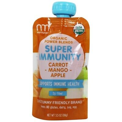 Nurturme - Organic Power Blends Super Immunity Banana + Pumpkin + Celery