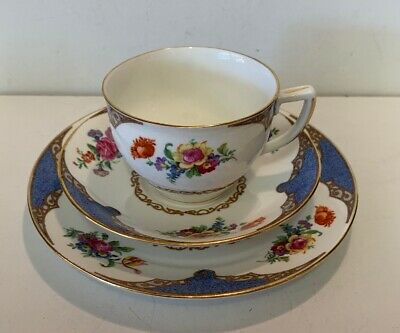 Vintage Collingwood Bone China Trio, Cup/ Saucer & Side Plate