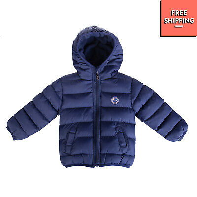 HARMONT&BLAINE JUNIOR Quilted Jacket Size 3-6M Fleece Inside Hooded