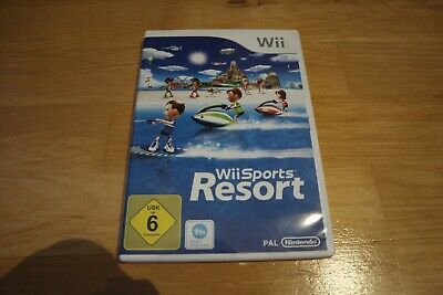 Wii Sports Resort -- (Nintendo Wii, 2013, DVD-Box)