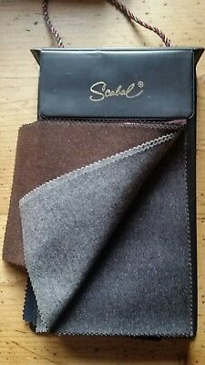 SCABAL Design SAMPLEBOOK StoffKatalog Stoffmusterbuch BUNCH 656 FINEST FLANELL
