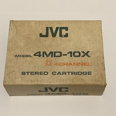 JVC 4MD-10X 4 Channel Stereo Cartridge & Stylus *NEW IN BOX*