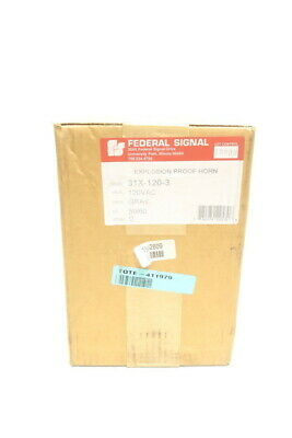 Federal Signal 31X-120-3 Explosion Proof Horn