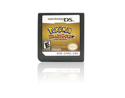 For HeartGold Pokemon Nintendo 3DS NDSI NDS NDSL Lite2 Game Card US Version
