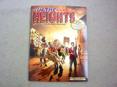 In The Heights Vocal Selection Lin-Manuel Miranda 9781423445814 -  Brand New
