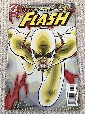 Flash (1987) #197 1st appearance and origin of Zoom. Geoff Johns. Key NM