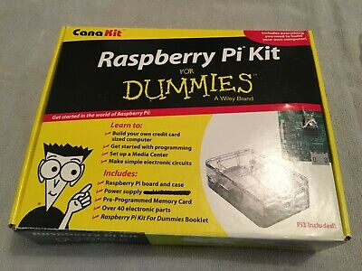 Raspberry Pi Kit For Dummies (without Manual)