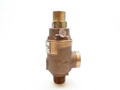 Kunkle FIG 20 Bronze Relief Valve 6gpm 10psi 3/4in Npt