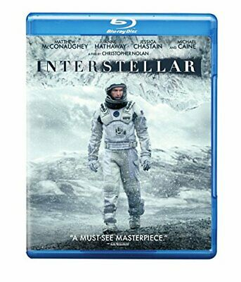 New OPEN/DISTRESS BOX! Interstellar - Blu-ray Disc
