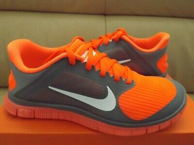newest 02c22 3215e NIKE FREE 4.0 V3 Women's Running Shoes Size 6.5 Gray/White/Crimson 580406  018