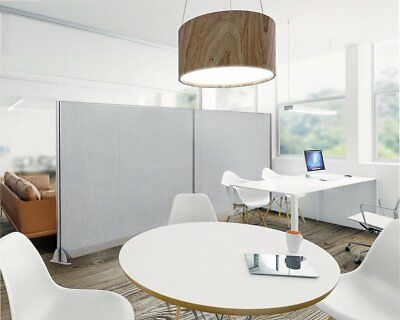 "GOF Wall Mounted Office Partition Panel, Room Divider 72"" Height (6 FT)"