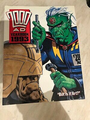 2000 AD Year Book 1993 Very Good Condition