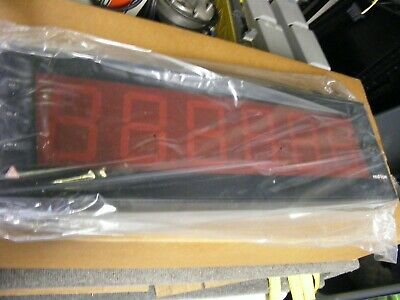 Red Lion Controls Programmable LED Timer/Cycle Count Display Cat No LD4T06P0 New
