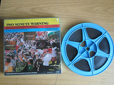 Super 8mm sound 1x400 TWO MINUTE WARNING. Charlton Heston classic.